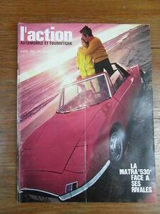 l action automobile et touristique no 80 avril 1967 matra. Black Bedroom Furniture Sets. Home Design Ideas