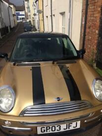 Mini Cooper Auto Golden 2003