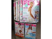 Wedding & Bridal magazines - Bundle of 9 magazines
