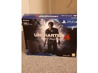 Playstation 4 500GB Slim with Uncharted 4 #Brand New#