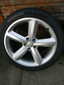 Audi a4 b8 genuine sline wheels
