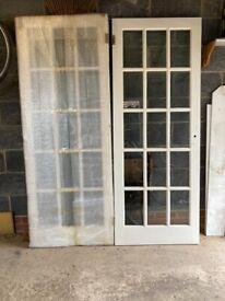 Glazed Doors, internal - pair