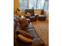 Electric recliners - two seater and chair