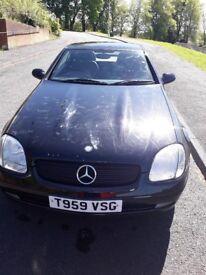 Mercedes kompressor convertable