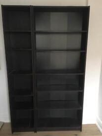 Beautiful Large 2-piece Bookcase