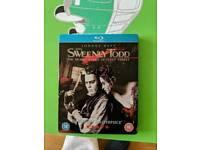 Steel book blu ray Sweeney Todd