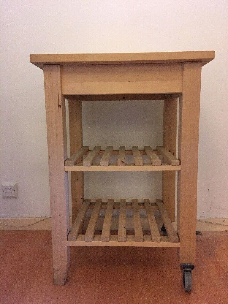 Ikea Bekv 196 M Kitchen Trolley Birch In Leith Edinburgh