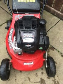 Masport industrial lawnmower