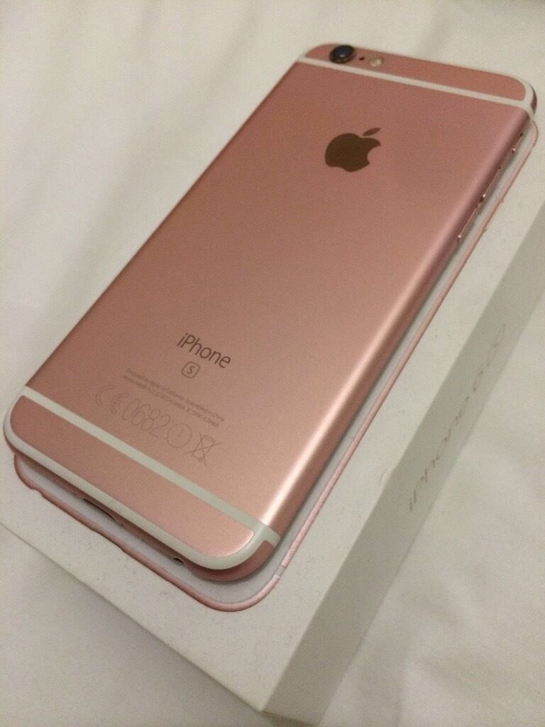 iPhone 6s 16 gigin Liverpool City Centre, MerseysideGumtree - IPhone 6s 16 gb white space , rose gold back in excellent condition . The devise screen and body is fully protected ( no cracked or scratch)