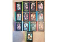 Lemony Snicket The series of unfortunate events joblot