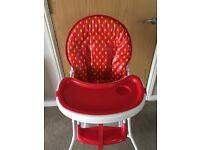 Baby sitting chair, baby bath tub, high chair & baby walker