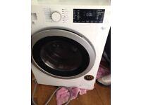 White beko washer dryer black n silver door 8kg wash n 5kg dry 150 ono