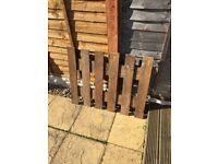 Garden Wood Fence Panels for sale