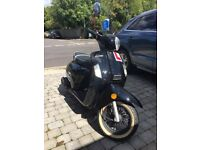 WK Bellissima 125 Scooter Black