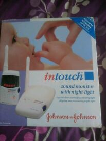 In touch baby monitor