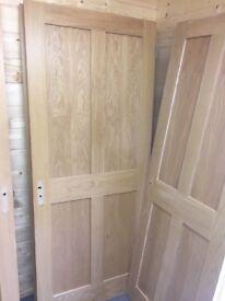 8 oak veneer doors various sizes