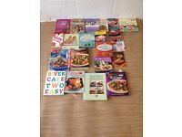 Box of wellbeing and cook books