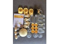 Medela Swing Maxi (Double) incl. spare parts (ideal for combination feeding)