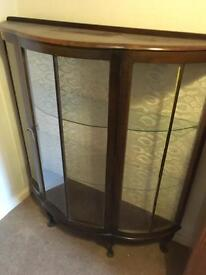 Nice old wooden display unit