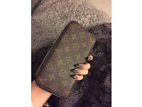Louis Vuitton double sized purse wallet