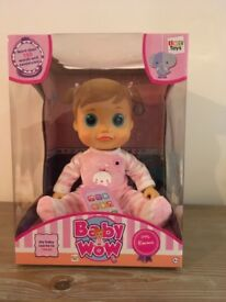 INTERACTIVE BABY EMMA WOW DOLL