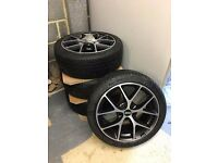 "BBS SR 18"" with Michelin Pilotsport Alpin Winter Tyres"