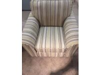 Arm chair with high category fabric