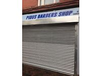 Barbershop looking for barbers