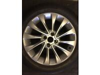 Vauxhall corsa E alloy wheel and tyre Only got one for sale it is as new £120 call 07860431401