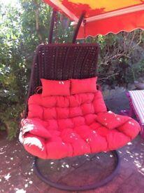 Outdoor 2 person Garden Hanging Chair