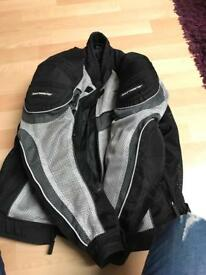 Size m mesh textil jacket