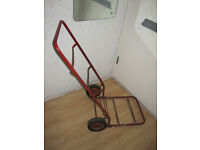 Vintage Metal Sack Trolley / Truck