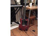 Gibson SG Faded, matt red finish