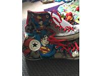 Superman all star converse size 12