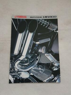 YAMAHA XV535DX VIRAGO Motorcycle Sales Brochure c1999 #0107012-99E, used for sale  Leicester
