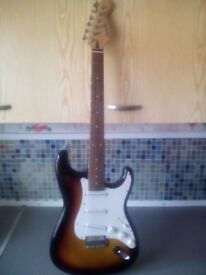 Cruiser stratocaster style guitar £50 cash