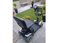Tga lightweight mobility scooter that splits into several parts to put in car boot
