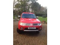 MITSUBISHI L200 TROJAN Double Cab Pick UP NO VAT 48000 miles only