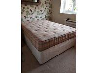 For Sale. Sleepeeze Double Divan Bed