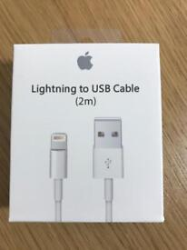 2 x Apple Cables Lightning Cables