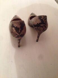 Heels. Dorothy Perkins. Brand new. Size 4 (UK ) 37 (EU).