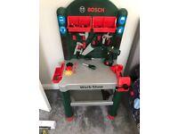 Bosche workshop workbench for kids