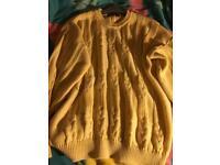Vintage yellow jumper