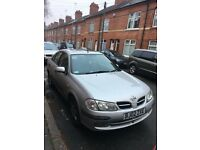 Nissan Almera Saloon (long) , 1.8 Petrol -AUTOMATIC GEARBOX- very good condition