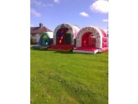 various bouncy castles for hire