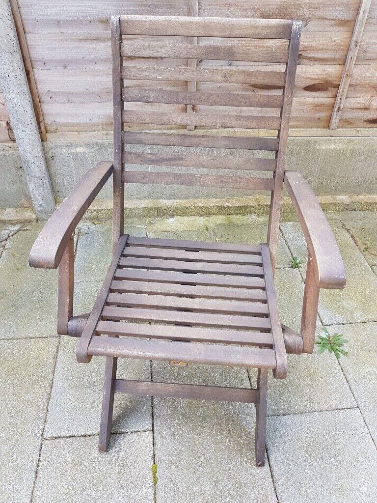 4 garden chairs