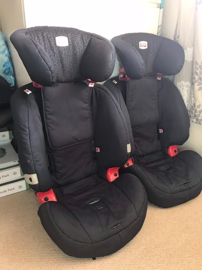 Britax Evolva High Back Booster Car Seat