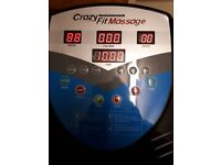 Crazy Fit massage machine (wobble machine) with built in speakers