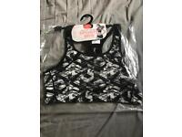 Brand new ladies size large gym top