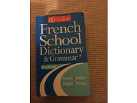 GCSE French school dictionary